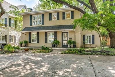 4053 Hanover Avenue, University Park, TX 75225 - MLS#: 13854557