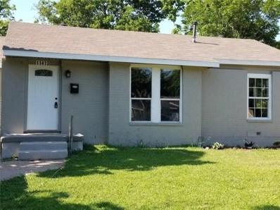 11413 Rupley Lane, Dallas, TX 75218 - MLS#: 13860819