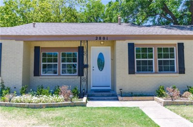 2801 W Biddison Street W, Fort Worth, TX 76109 - MLS#: 13871325