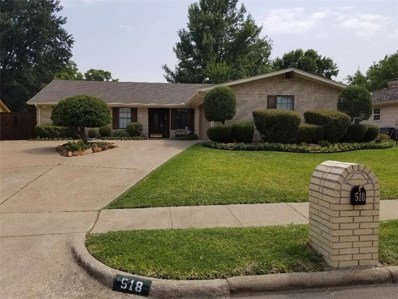 518 Reinosa Drive, Garland, TX 75043 - MLS#: 13901995