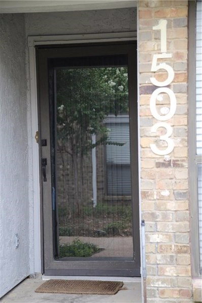 17490 Meandering Way UNIT 1503, Dallas, TX 75252 - MLS#: 13903856
