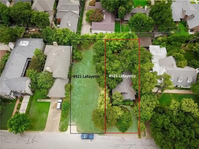 4925 Lafayette Avenue, Fort Worth, TX 76107 - MLS#: 13906787
