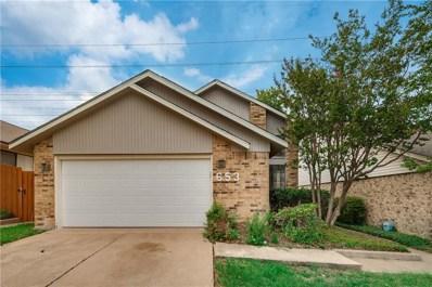 653 Via Miramonte, Mesquite, TX 75150 - MLS#: 13915582