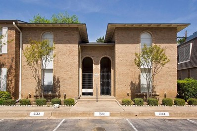 5837 Copperwood Lane UNIT 1133, Dallas, TX 75248 - MLS#: 13921557