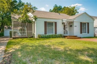 4235 Somerville Avenue, Dallas, TX 75206 - MLS#: 13923165