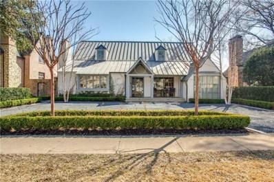 4021 Bryn Mawr Drive, University Park, TX 75225 - MLS#: 13928200