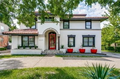 4669 Mockingbird Lane, Highland Park, TX 75209 - MLS#: 13930852