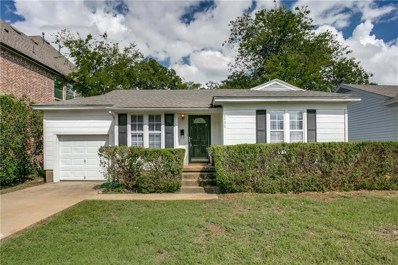 8426 Ridgelea Street, Dallas, TX 75209 - MLS#: 13932887