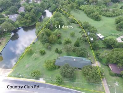 806 Country Club Road, Cleburne, TX 76033 - MLS#: 13933794