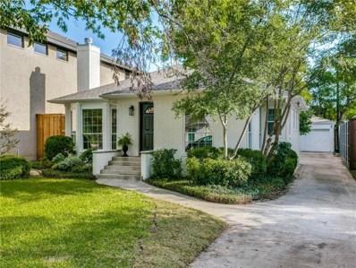 4512 W Amherst Avenue W, Dallas, TX 75209 - MLS#: 13934522