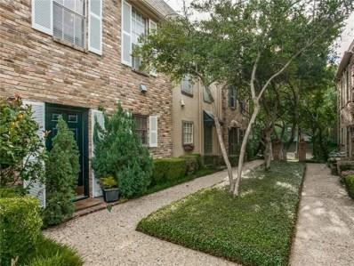 4017 Buena Vista Street UNIT 119, Dallas, TX 75204 - MLS#: 13939459