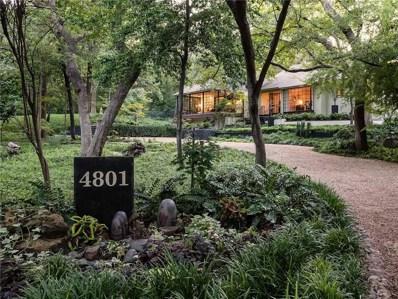 4801 Alan Dale Lane, Dallas, TX 75209 - MLS#: 13939481