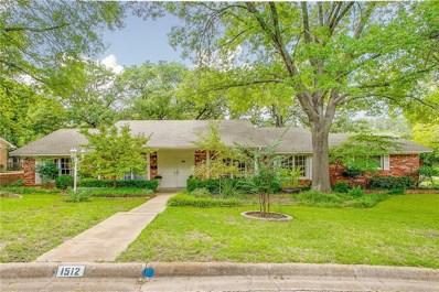 1512 Azteca Drive, Fort Worth, TX 76112 - MLS#: 13939930