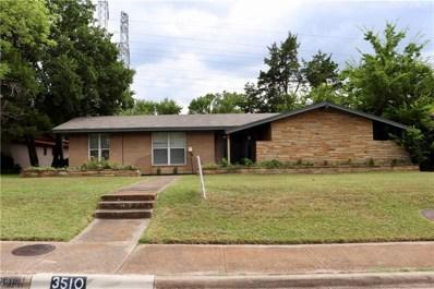 3510 Kiestcrest Drive, Dallas, TX 75233 - MLS#: 13940047