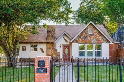 1600 S Beckley Avenue S, Dallas, TX 75224 - MLS#: 13945438