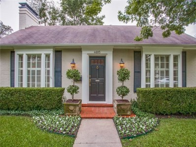 4605 Southern Avenue, Highland Park, TX 75209 - MLS#: 13946424