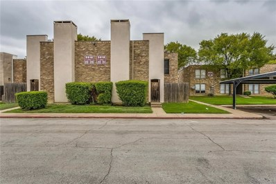 1104 Country Club Lane UNIT 114, Fort Worth, TX 76112 - MLS#: 13947459
