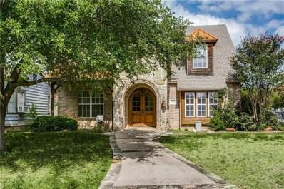 4923 W University Boulevard W, Dallas, TX 75209 - MLS#: 13948698
