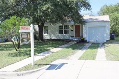 4412 Fairfax Street, Fort Worth, TX 76116 - MLS#: 13952782
