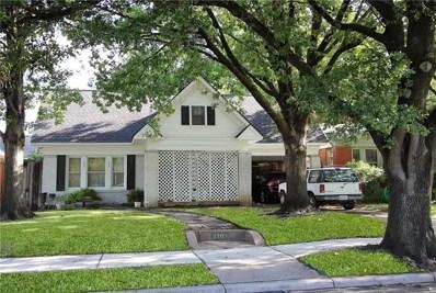 5707 Mercedes Avenue, Dallas, TX 75206 - MLS#: 13966103