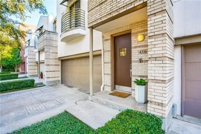 4316 Gilbert Avenue, Dallas, TX 75219 - MLS#: 13968234