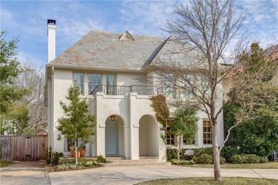 4432 Emerson Avenue, University Park, TX 75205 - MLS#: 13974486