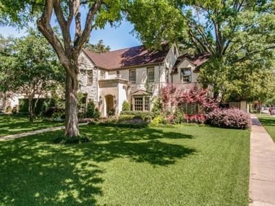 4300 Arcady Avenue, Highland Park, TX 75205 - MLS#: 13976217