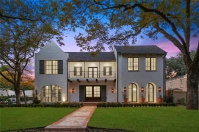 4328 McFarlin Boulevard, University Park, TX 75205 - MLS#: 13981230