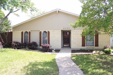 2040 Ash Hill Road, Carrollton, TX 75007 - MLS#: 13981771