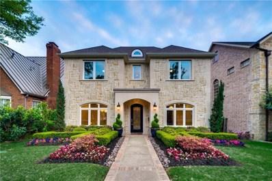 3225 Amherst Avenue, University Park, TX 75225 - MLS#: 13984087