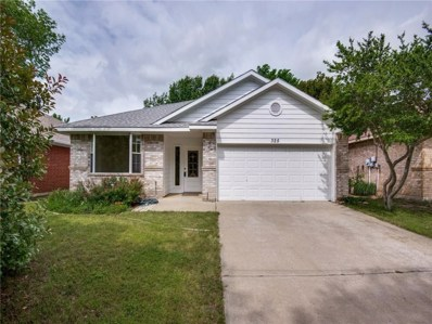 325 Boliver Avenue, Lake Dallas, TX 75065 - MLS#: 13988349