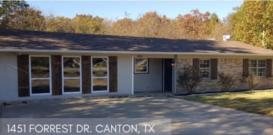 1451 Forrest Drive, Canton, TX 75103 - #: 13992298