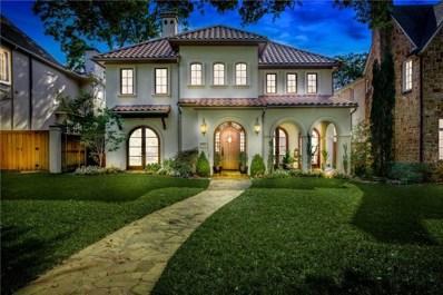 3521 Milton Avenue, University Park, TX 75205 - MLS#: 13999977