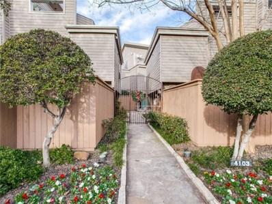 4103 Avondale Avenue UNIT 1, Dallas, TX 75219 - MLS#: 14001448