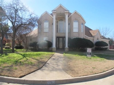 4000 Shores Court, Arlington, TX 76016 - MLS#: 14002260