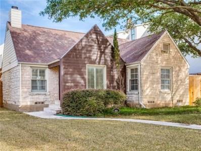 4823 W Amherst Avenue, Dallas, TX 75209 - MLS#: 14023399