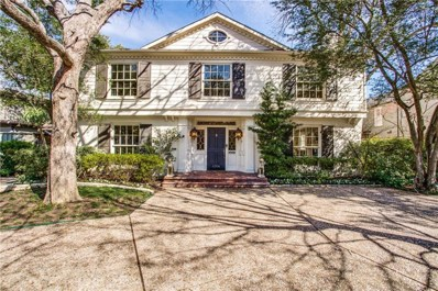 4308 McFarlin Boulevard, University Park, TX 75205 - MLS#: 14044009