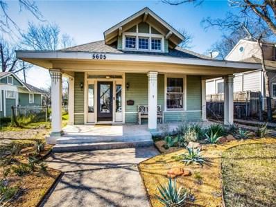 5605 Worth Street, Dallas, TX 75214 - MLS#: 14046581