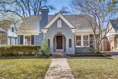 5822 Monticello Avenue, Dallas, TX 75206 - MLS#: 14048731