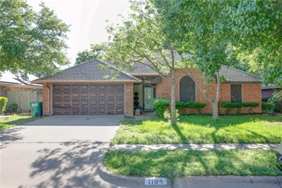 1104 Oak Valley, Denton, TX 76209 - #: 14074732