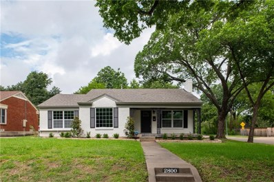 2800 Ryan Place Drive, Fort Worth, TX 76110 - #: 14097133