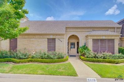 5418 Carmel Court, Tyler, TX 75703 - #: 10099398
