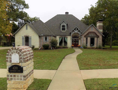 4201 South Crest Ct., Longview, TX 75605 - #: 10101480