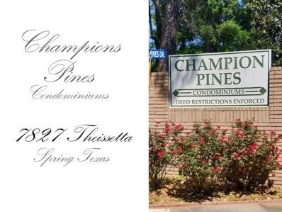 7827 Theissetta Drive UNIT 138, Spring, TX 77379 - MLS#: 10160506