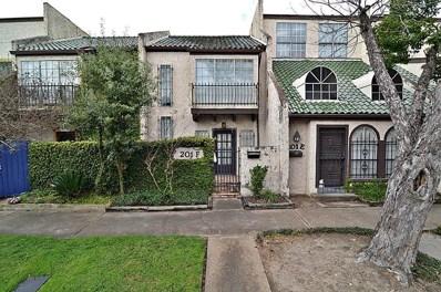 201 Avondale Street UNIT F, Houston, TX 77006 - MLS#: 10826180