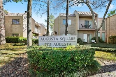 1115 Augusta Drive UNIT 16, Houston, TX 77057 - MLS#: 11179562