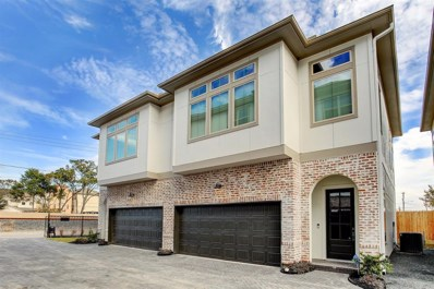 5209 Allen Street UNIT D, Houston, TX 77007 - MLS#: 12016716