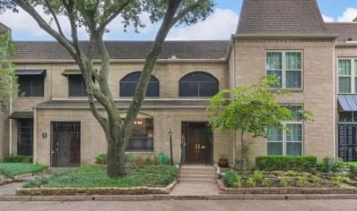 4 Bayou Pointe Drive, Houston, TX 77063 - MLS#: 12640983