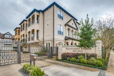 1811 Nantucket Drive UNIT A, Houston, TX 77057 - #: 15786051
