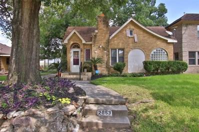 2653 Oakdale Street Street, Houston, TX 77004 - #: 16106186
